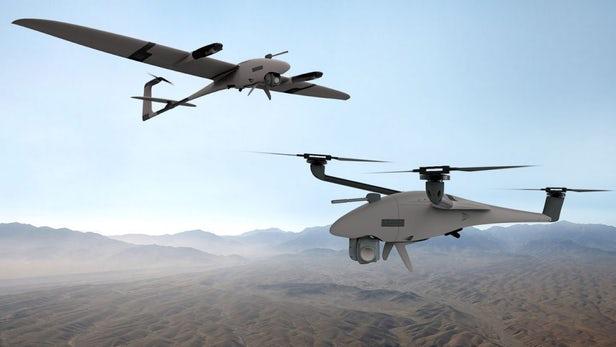 """Vector垂直起降无人机可""""变形""""为三旋翼无人机"""