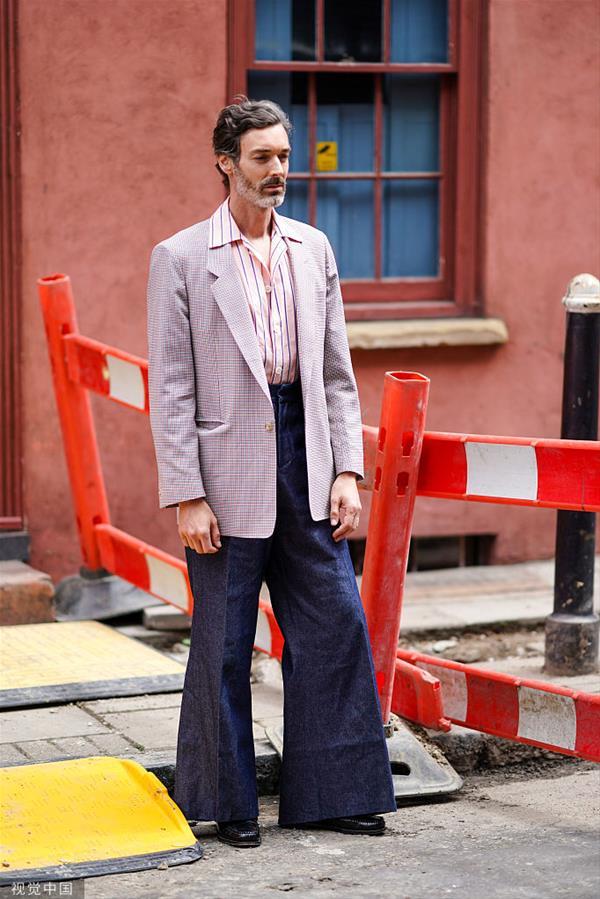 2020春夏伦敦男装周:潮人街拍
