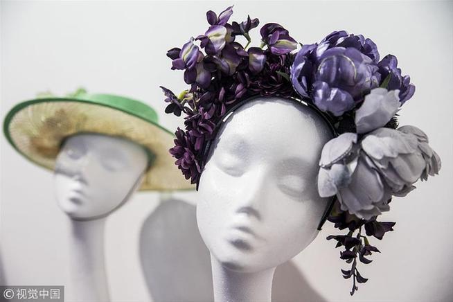 """""""World Garden""""主题礼帽展览"""