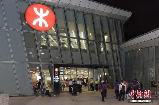 资料图:香港高铁西九龙站。中新社记者 李志华 摄