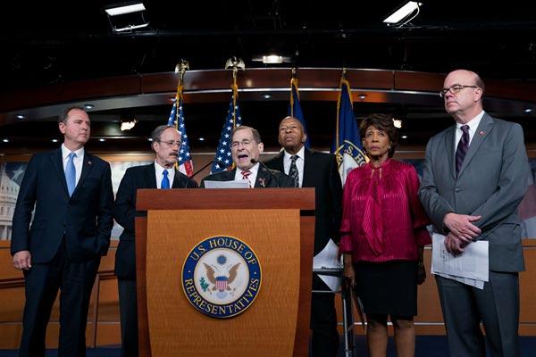 美国众议院通过决议 授权司法委员会更多调查特朗普的权力