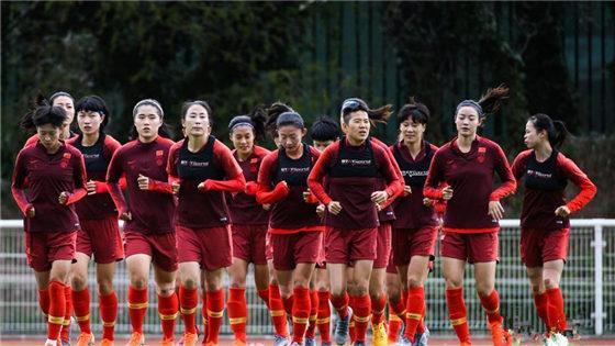 法国女足世界杯 中国女足备战第二场比赛