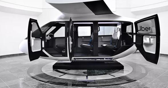 Uber展示空中出租车 内部设计类似直升飞机