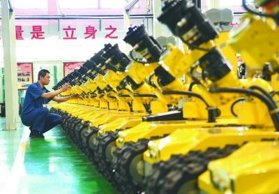 河北唐山大力发展机器人和智能装备制造