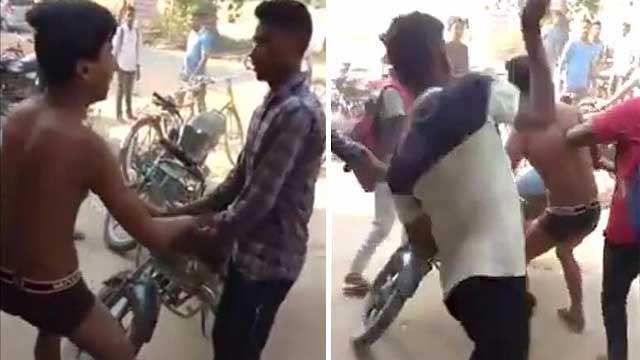 印度一男孩因座位与同学起冲突被围殴致死