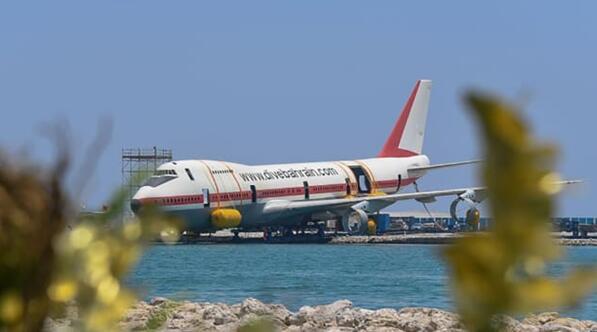 """""""世界最大水下公园""""!巴林波音飞机特色水下主题公园将于8月开"""