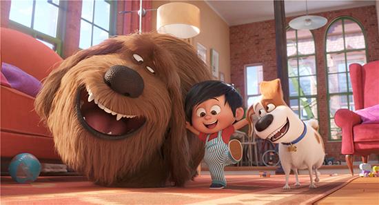 北美上映首周票房夺冠 《爱宠大机密2》发新预告