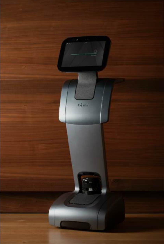 以色列Temi机器人亮相CESA 个人机器人引关注