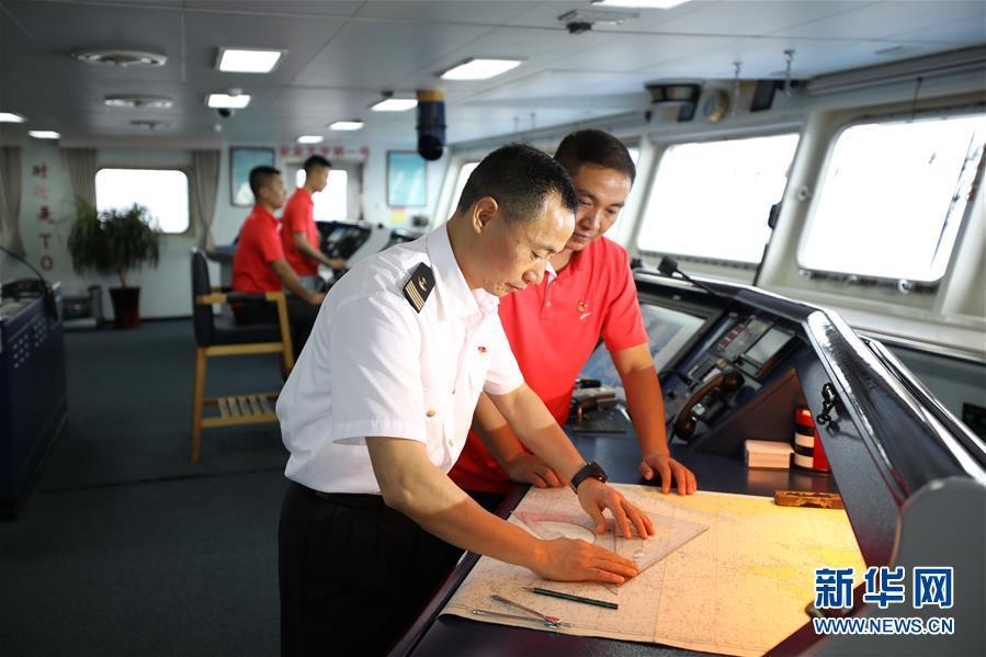 远望3号远洋航天测量船加速驶向测控任务海域