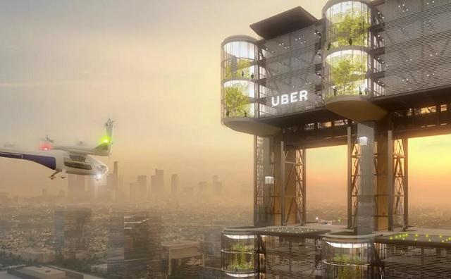 Uber未来空中交通与运输服务将使用AT&T 5G技术