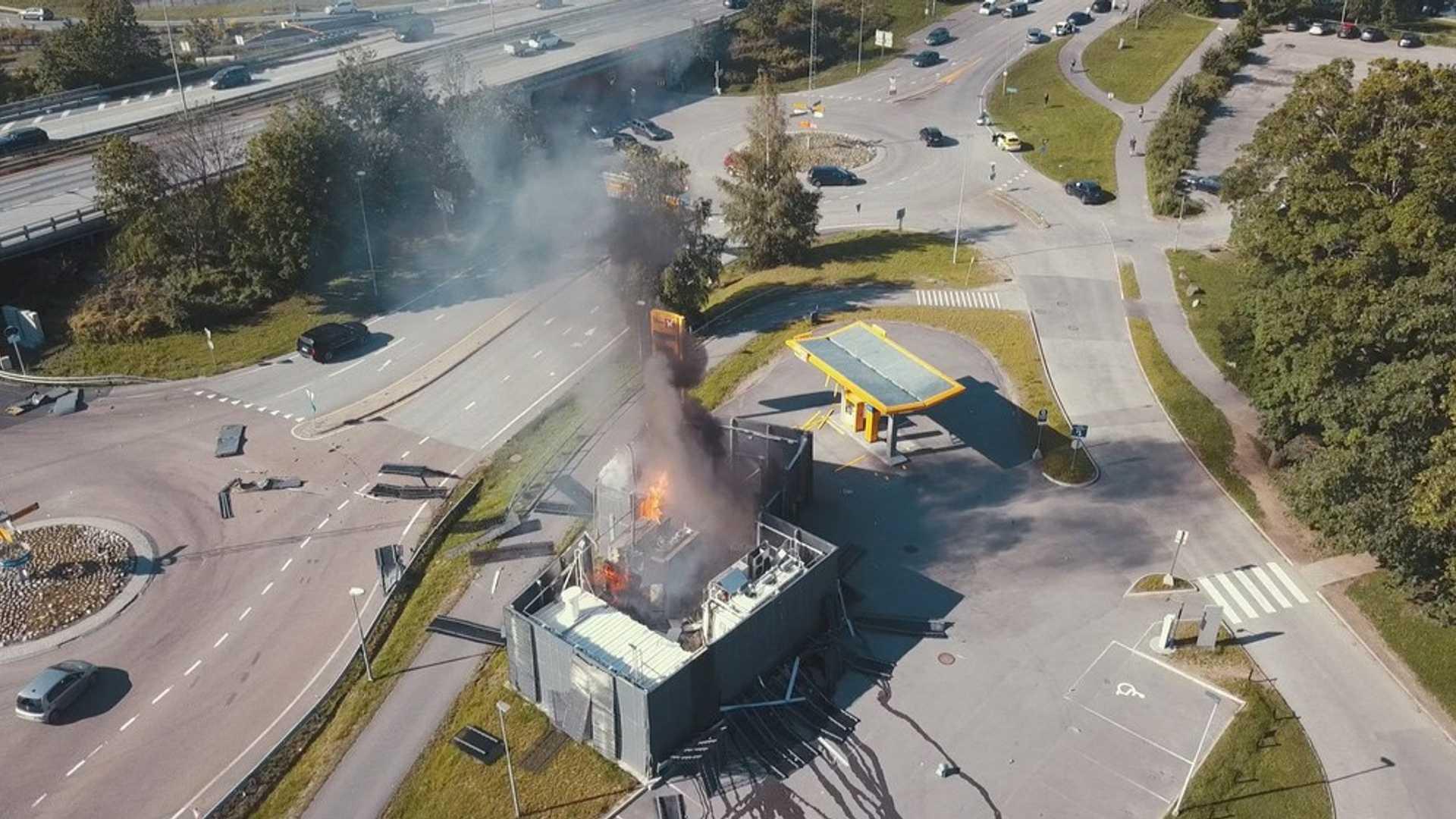 挪威加氢站爆炸致该地区氢燃料供给中断,FCV销售暂停