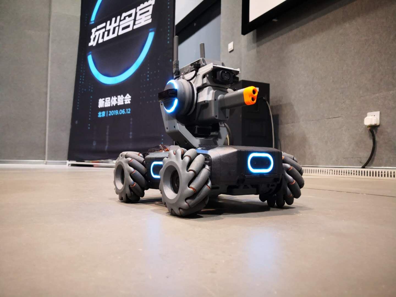 体验大疆RoboMaster S1教育机器人 羡慕现在的小学生