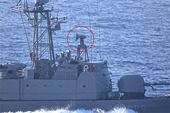 希腊巡逻舰爱琴海跟踪土军舰并开启火控雷达
