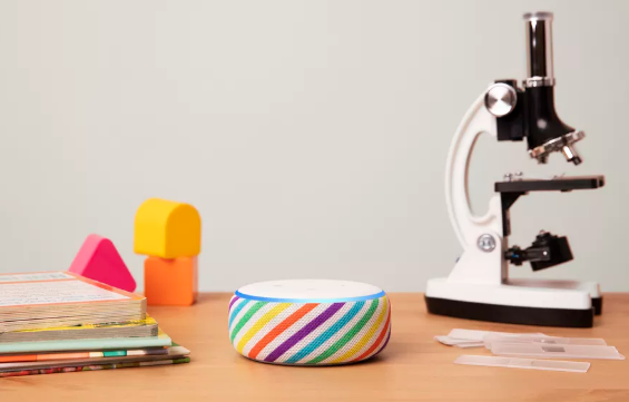亚马逊发布新款Echo Dot儿童版扬声器