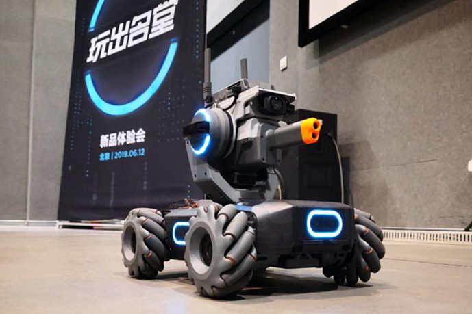 体验大疆RoboMaster S1教育机器人