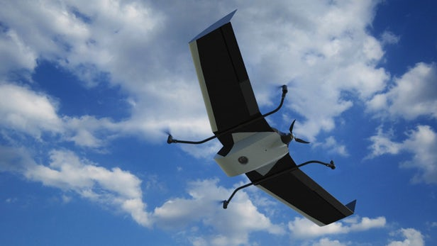 FlyTech通过VTOL升级模块使固定翼无人机具有垂直起降功能