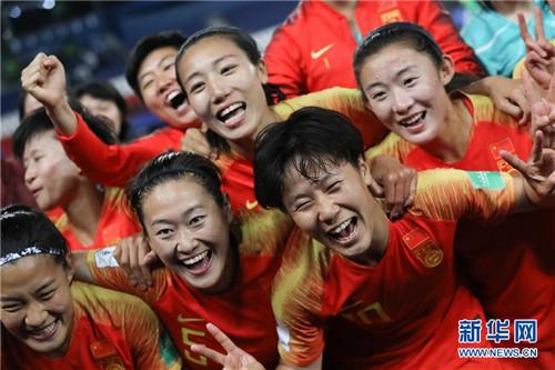 女足世界杯:李影一剑封喉 中国女足1:0胜南非
