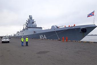 """俄军舰进美""""后院""""访问 还将沿中美洲航行"""