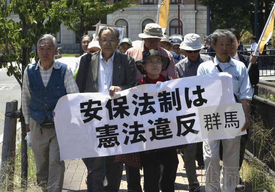 日本前法制局長官在法院作證,稱安保法案違反憲法