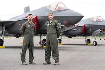 美国派F35战斗机赶赴芬兰 参加当地航空展