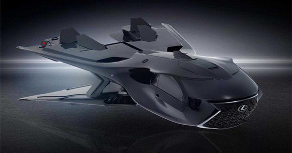 雷克萨斯发布全新概念宇宙飞船官图