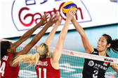 世界女排联赛江门站:中国队0:3不敌美国队