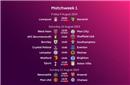英超新赛季赛程公布 揭幕战利物浦对阵升班马