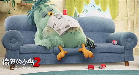 《愤怒的小鸟2》曝父亲节视频 爸爸雷翻小小鸟
