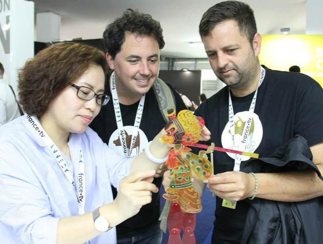 中国展团亮相法国阿讷西国际动画电影节