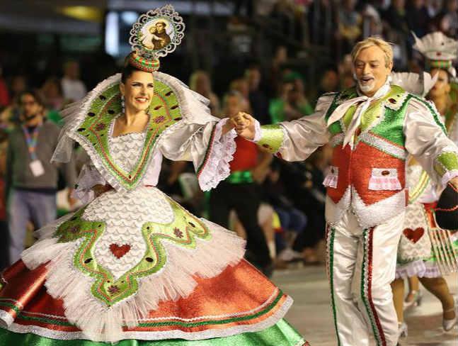 葡萄牙里斯本庆祝圣安东尼日