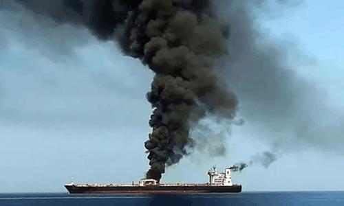 """美国点名伊朗""""侮辱日本"""",英国沙特附和,俄法呼吁克制"""