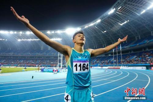 谢震业百米10秒01达标东京奥运 苏炳添伤缺