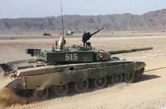 3500米外发起打击!我军99式坦克练极限射击