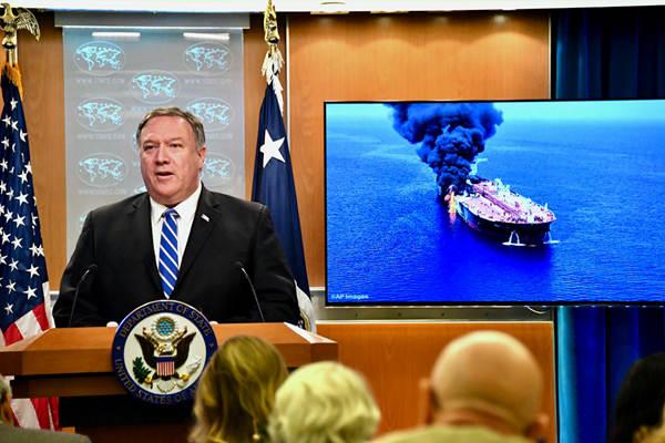 阿曼湾油轮遇袭致海湾局势紧张 美国指伊朗是幕后黑手