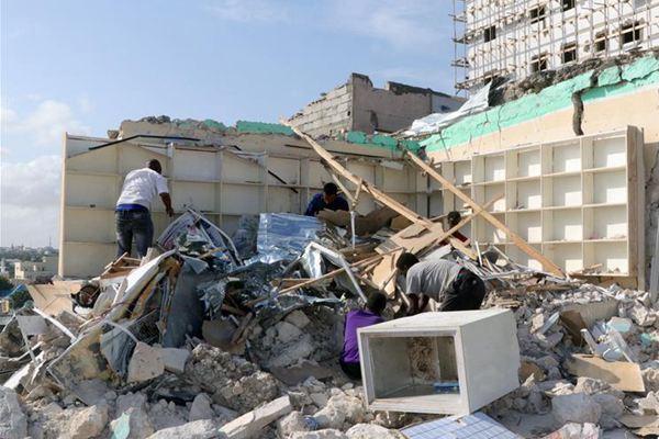 索马里首都遭汽车炸弹袭击致10死26伤