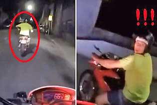 全程高能!巴西女骑警一路狂追逃逸罪犯