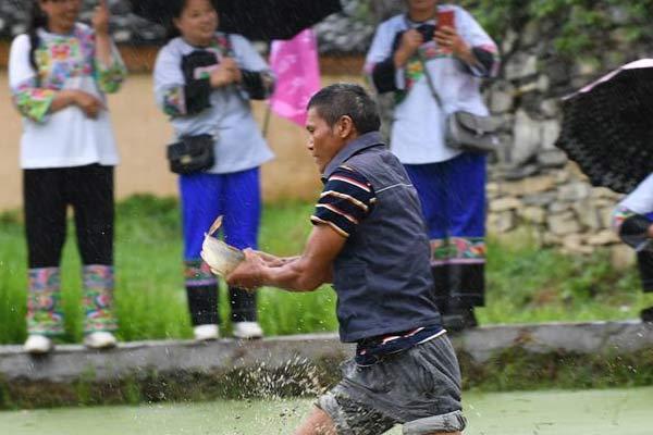 湖南湘西:农耕民俗文化节