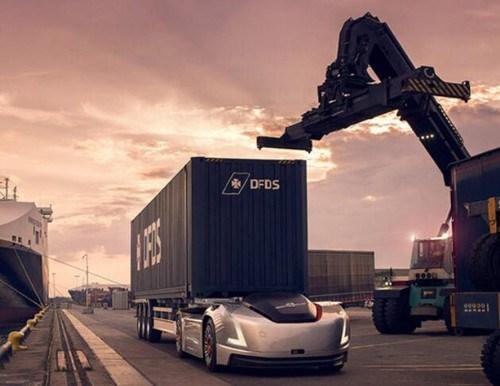 沃尔沃自动驾驶卡车Vera开始在瑞典港口运货