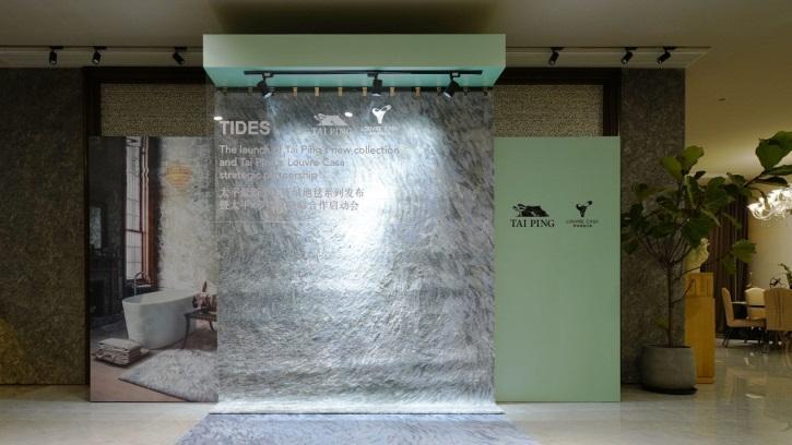 顶级手工簇绒地毯,2019新品绽放杭州设计中心!