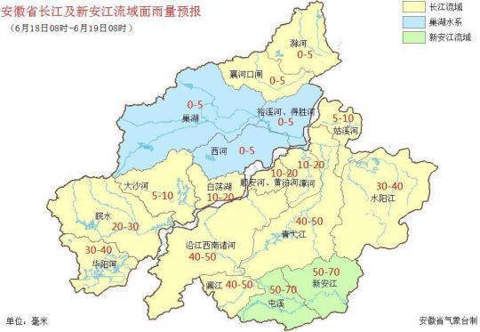安徽进入梅雨期预计未来几天有明显降水