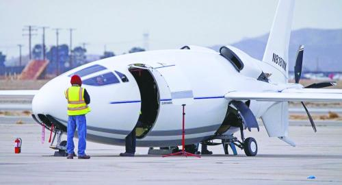 神秘子弹飞机带来航空革命?