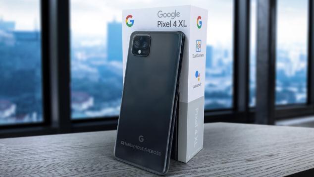谷歌Pixel 4 XL真机外形及包装曝光