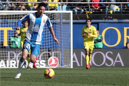 厉害了!武磊两球入选西班牙人赛季十佳进球