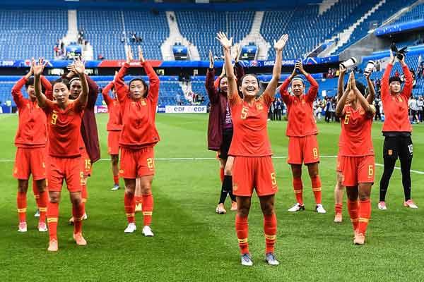 女足世界杯 中国女足0-0西班牙晋级十六强