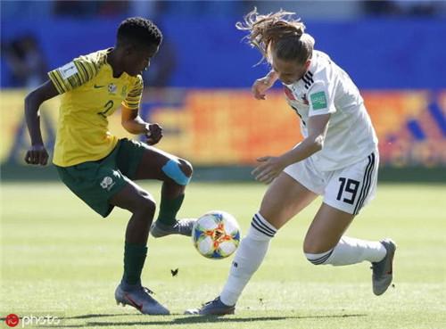 女足世界杯德国多点开花 4:0胜南非小组第一晋级