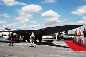 巴黎航展最重磅武器来了!法德六代机揭神秘面纱