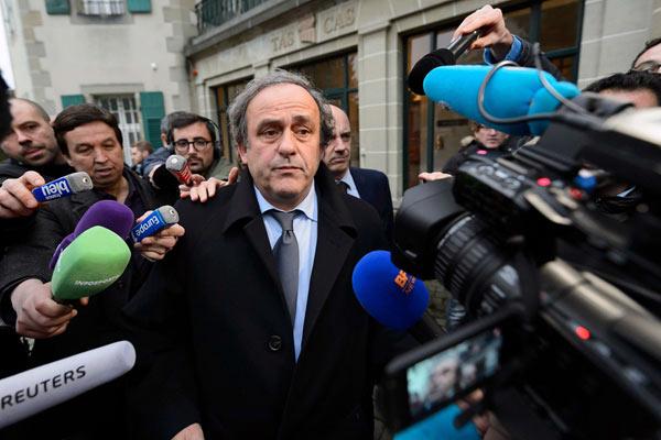 前欧足联主席普拉蒂尼被捕 疑在世界杯申办中涉腐