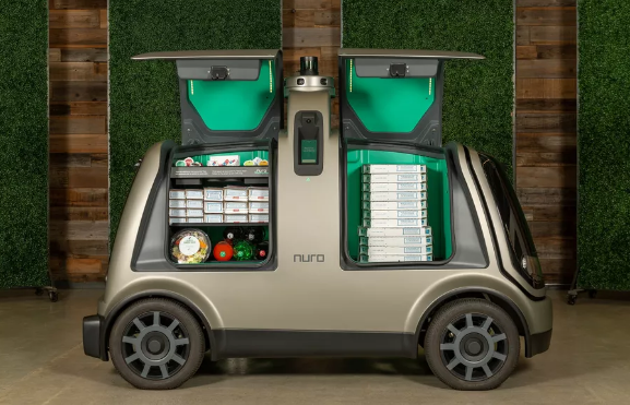 达美乐与Nuro合作使用无人驾驶车辆交付披萨外卖