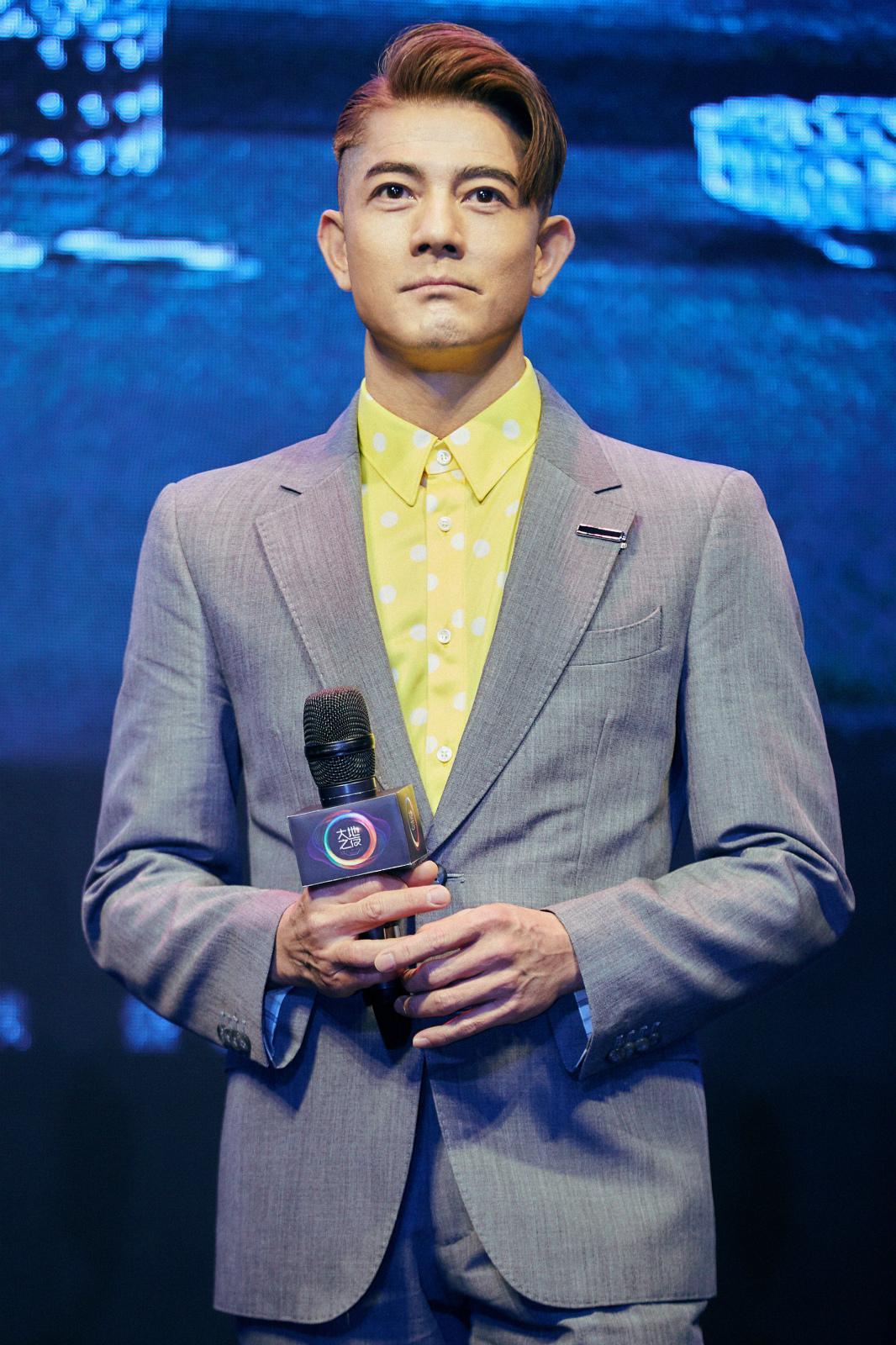 郭富城新角色挑战60岁年龄跨度 现场认真学普通话