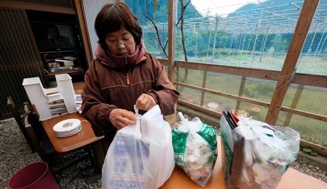 日本上胜町的垃圾分类